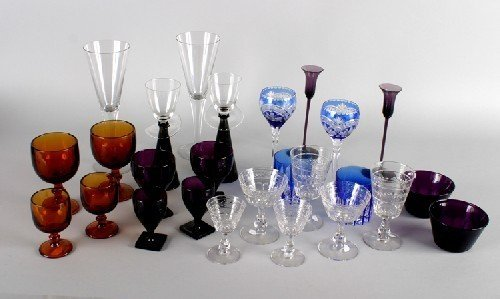 17B: A Collection of Glassware, Height of tallest goble