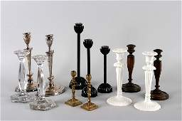 88B A Collection of Candlesticks Height of tallest 13