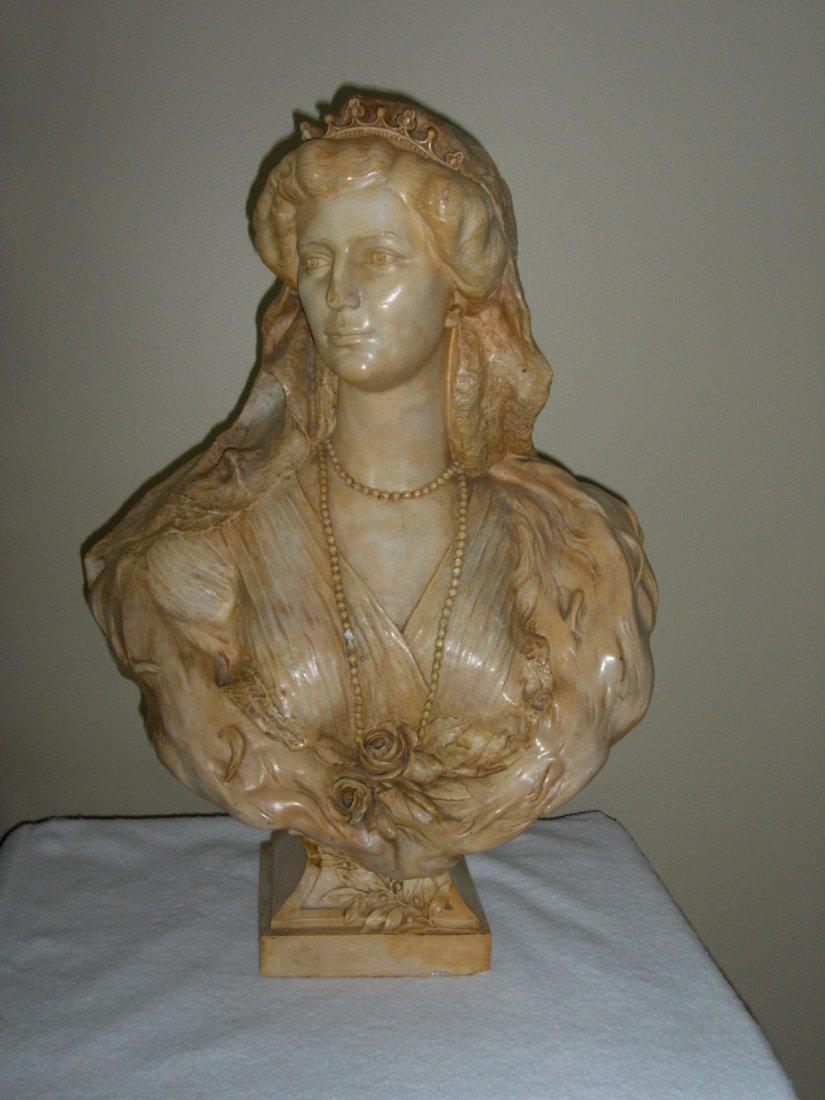 BUST OF KAISERIN ZITA OF AUSTRIA (1892-1989)