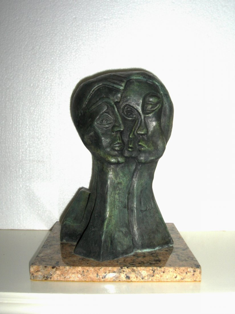 """PICASSO LTD EDITION """"THREE FACES"""" SIGNED-NUMBERED 1/30"""