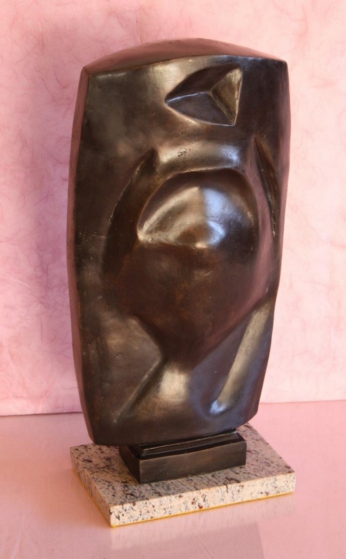 LARGE BRONZE SCULPTURE- SIGNED/NUMBERED- GIACOMETTI LTD
