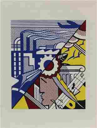 Roy Lichtenstein - Industry and the Arts