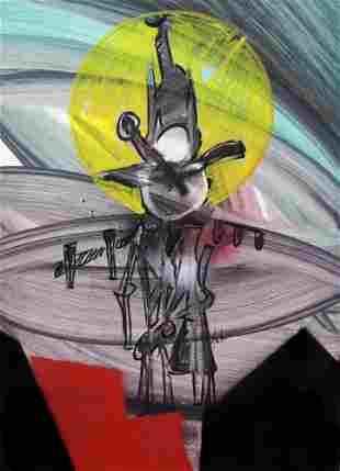 Sergio Dangelo - Ai Bruciati - Il Rotto Sole di Orfeo