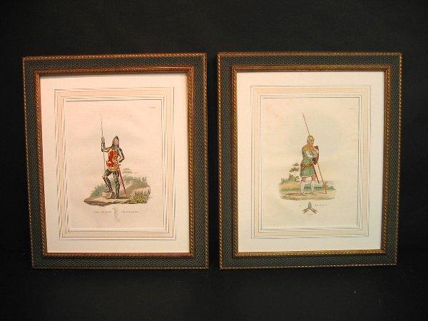 2: Decorative art prints of military.