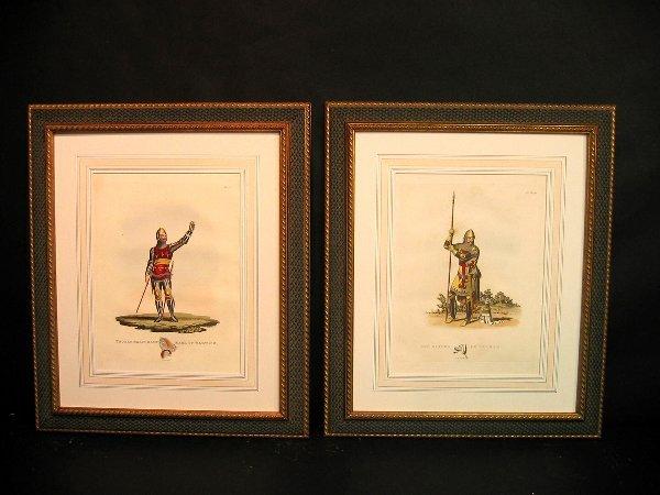 4: Decorative art prints of military..