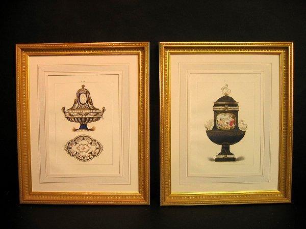 8: Decorative art prints of sevres