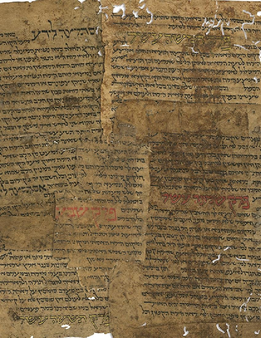 Collection of Early Manuscript Fragments, Removed from