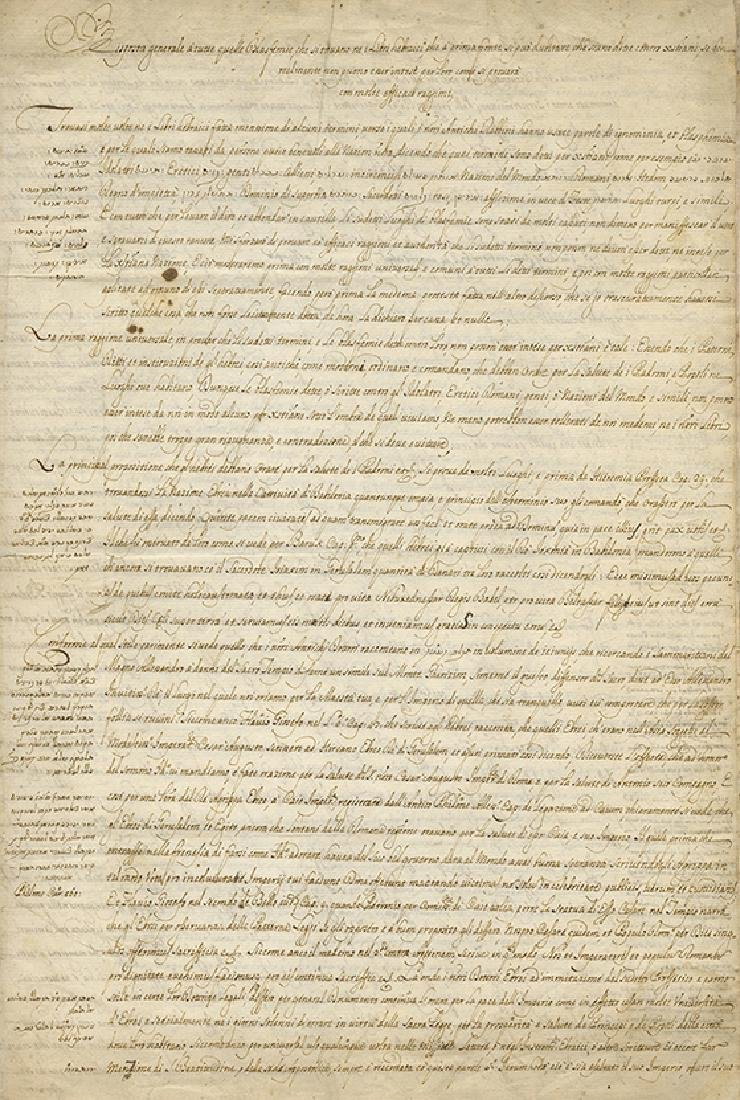 Manuscript, Composition Defending Jewish Books during
