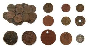 Varied Collection of Tokens
