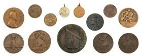 Large Collection of Jewish Medals - 20th Century