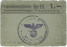 1 Reichsmark - Flossenb?rg Concentration Camp - IIII