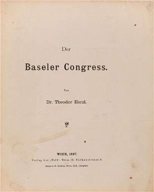 The Basel Congress Theodor Herzl Vienna