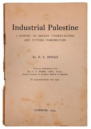 Industrial Palestine Survey of Trade and Ind