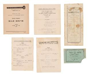 Collection of Booklets Programs and Documents