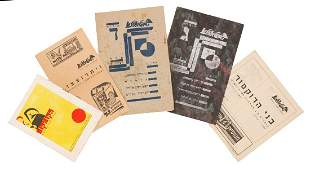 Collection of Booklets and Theater Programs