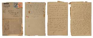 Autograph Letters from Gilgil Internment Camp