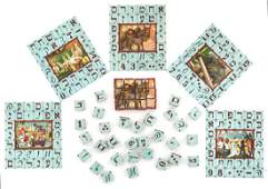 Cubes Game for Composition of Pictures and Words