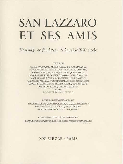 ec9aeb37f3d San Lazzaro and his Friends