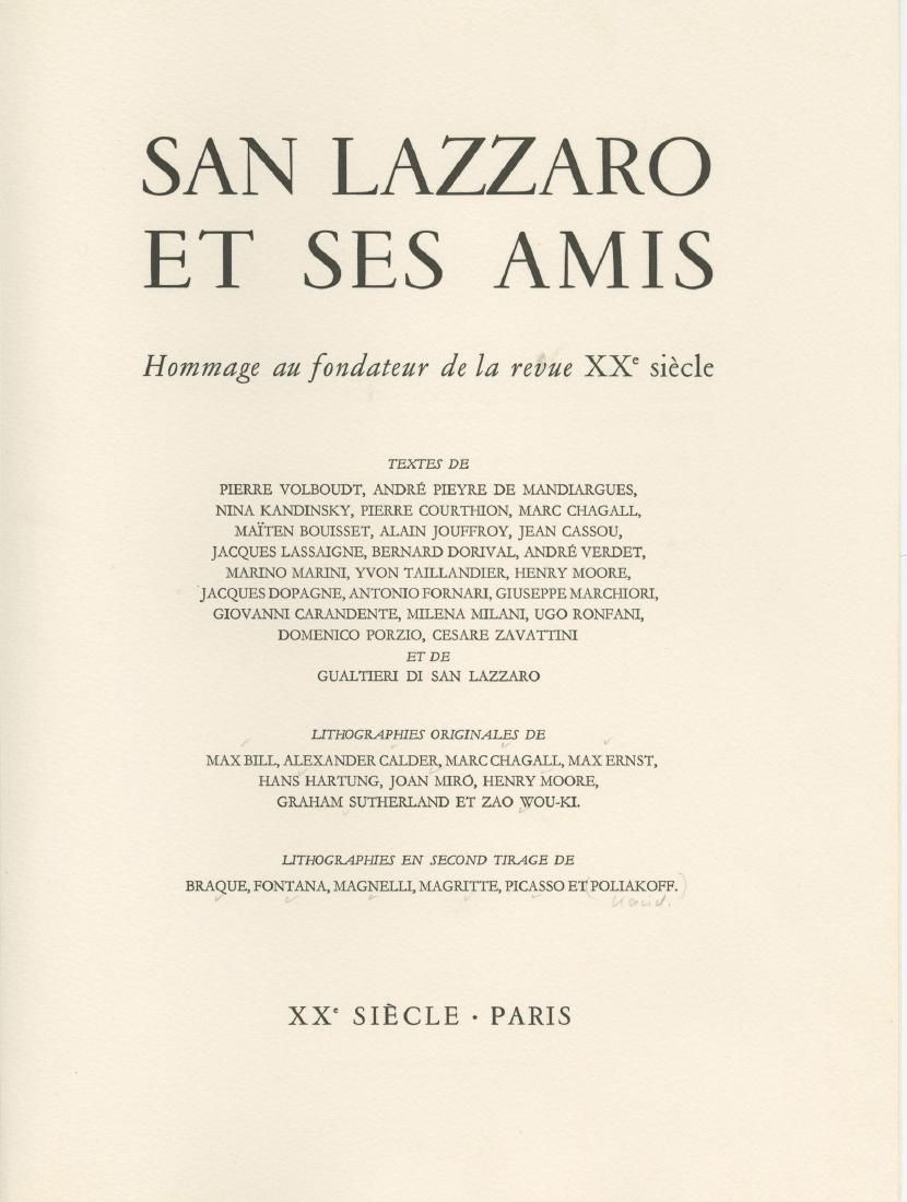 """""""San Lazzaro and his Friends"""" - Published by X..."""