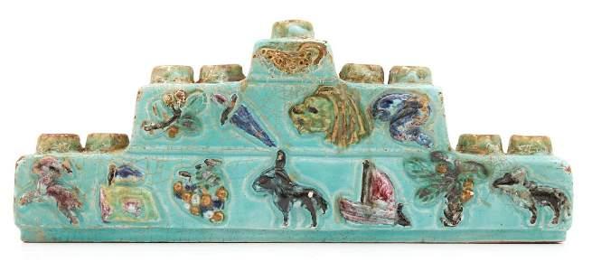 Ceramic Hanukkah Lamp - Twelve Tribes