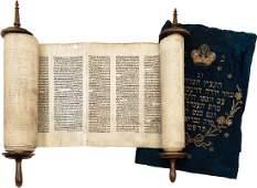 Sefer Torah - Austro-Hungary, Early 19th Cent...