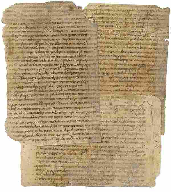 "Manuscript Fragments from a ""Bindings' Geniza..."