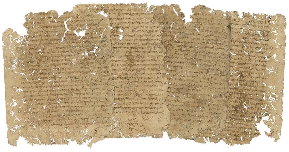 Manuscript Fragments - Commentary of Radak to...