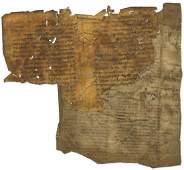 Fragments of Ancient Parchment Manuscripts