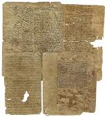 Letter and Paper Fragments Removed from a B