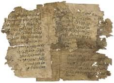 Fragments of Ancient Manuscripts ...