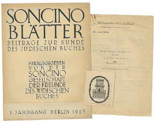 Collection of Paper Items from the Estate of Hermann