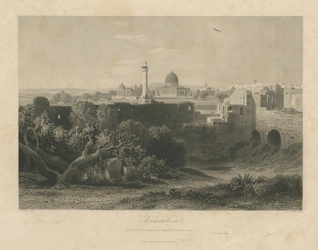 Large Collection of Prints - Palestine and the Near