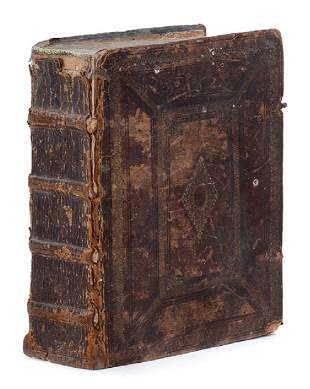 Research Book on Palestine Munich 1661 Engravings