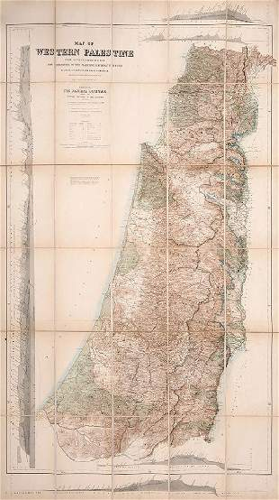 The Survey of Western Palestine Map and Book