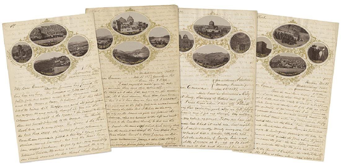 Letters Recounting a Journey in Palestine in 1877 /