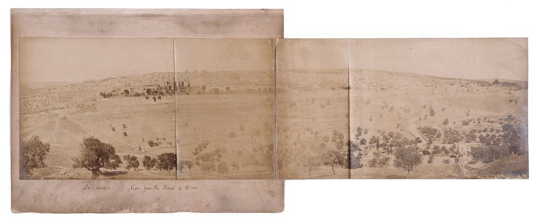 Panorama of Jerusalem - 19th Century