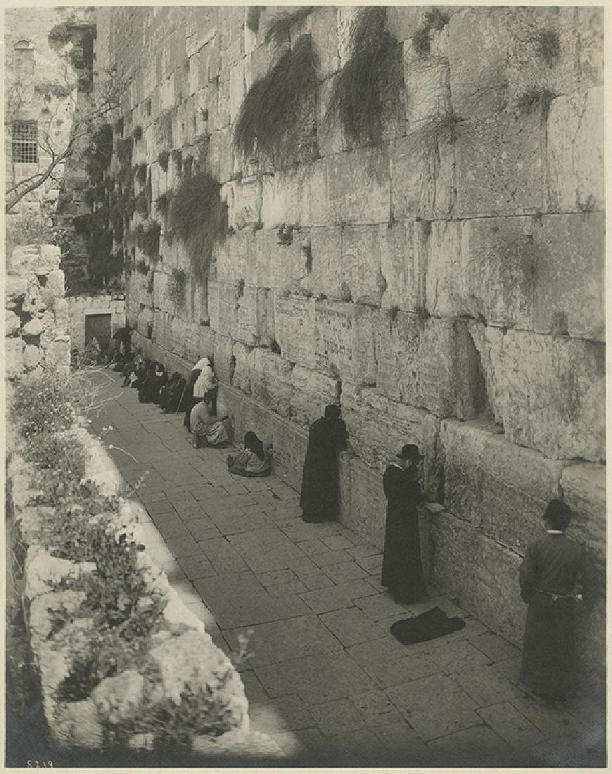Seven Photographs of the Western Wall