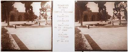 Glass Slides with Stereoscopic Photographs from
