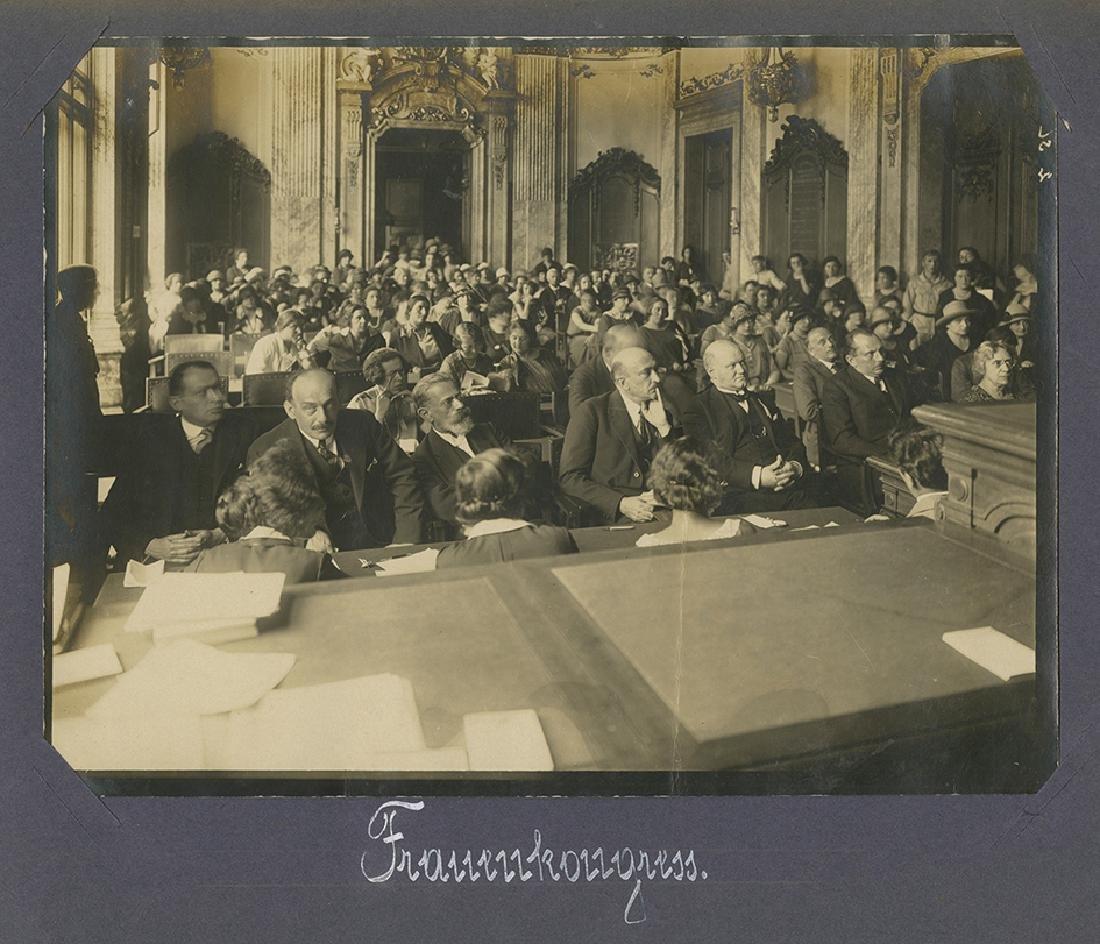 "Photo-Album - 14th Zionist Congress, ""Palestine"