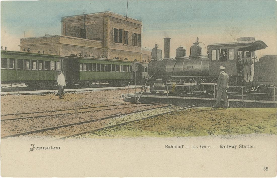 Collection of Postcards and Photographs - Train in