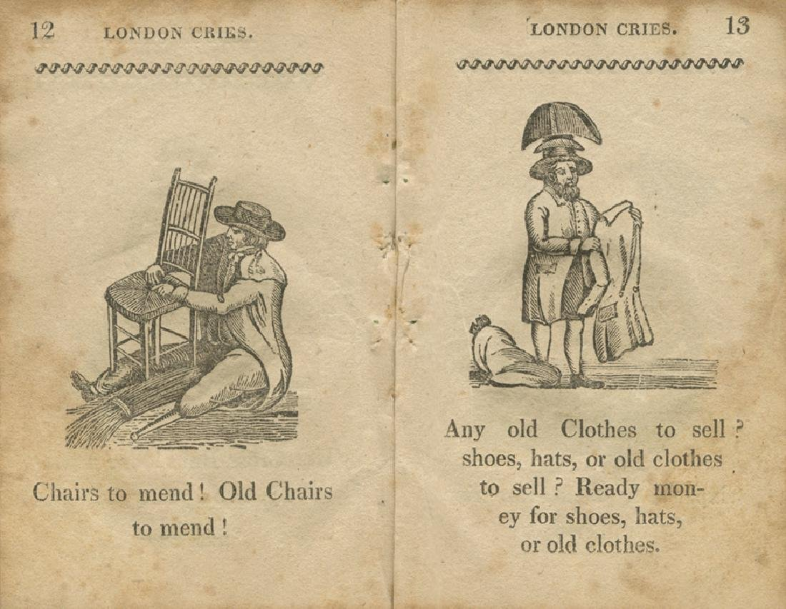 The Cries of London - Cooperstown (New York), 1824 -