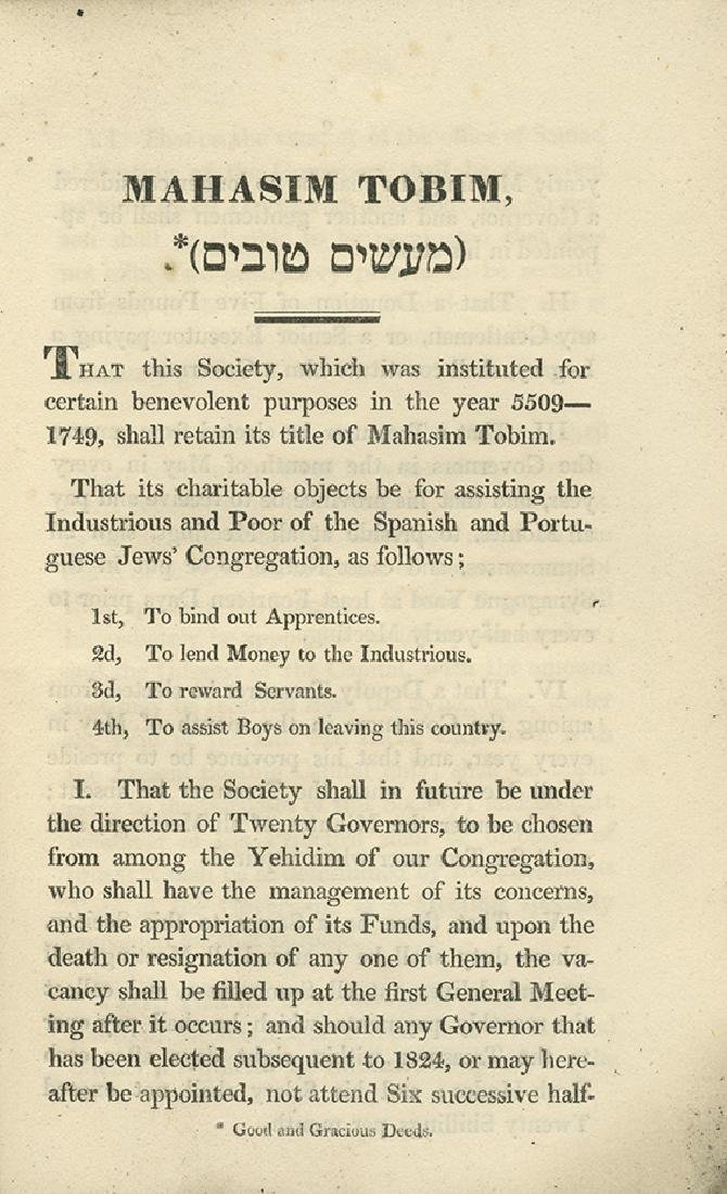 Collection of Booklets - Regulations of Synagogues and