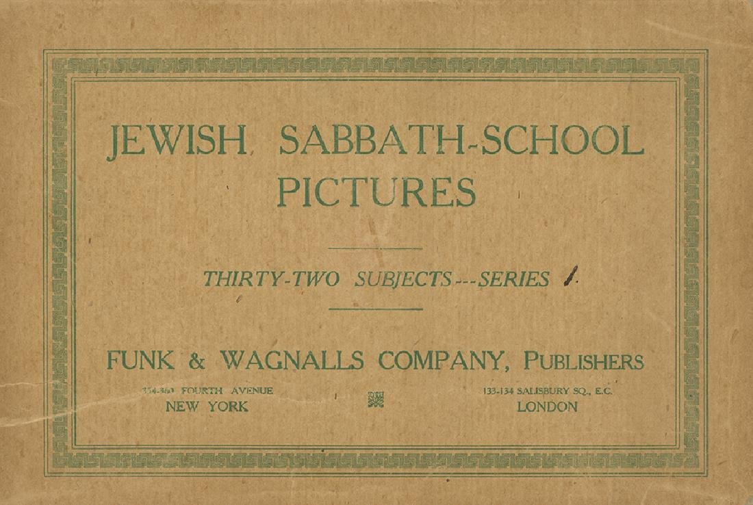 Four Folders with Pictures for Schools - New-York, 1914