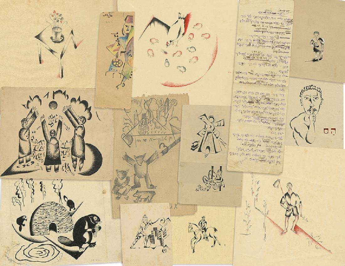 Archive of Sketches and Illustrations for Children's