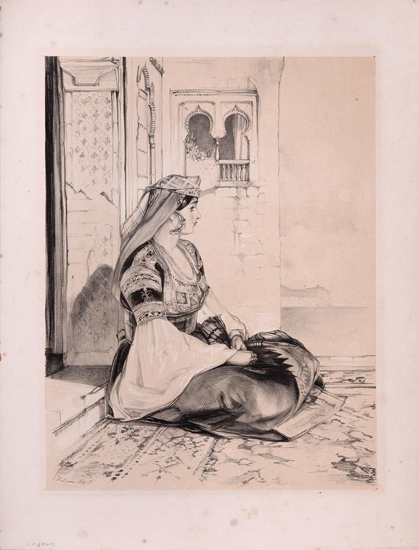 Jewish Woman of Gibraltar - John Frederick Lewis -
