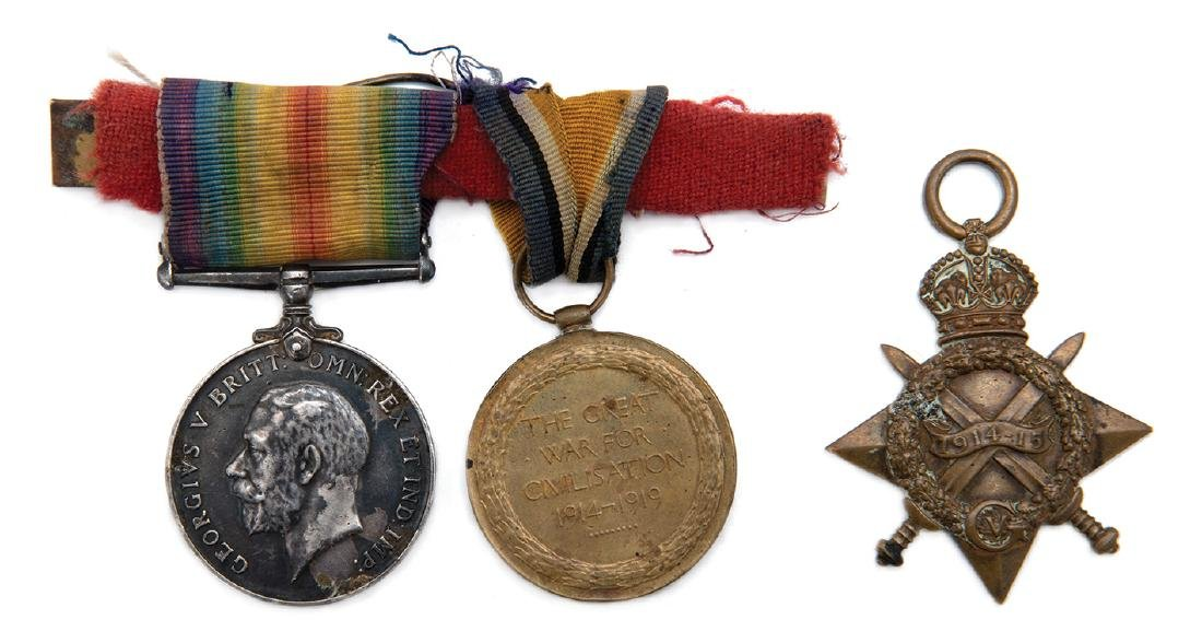 Three Medals Belonging to a Soldier in Zion Mule Corps