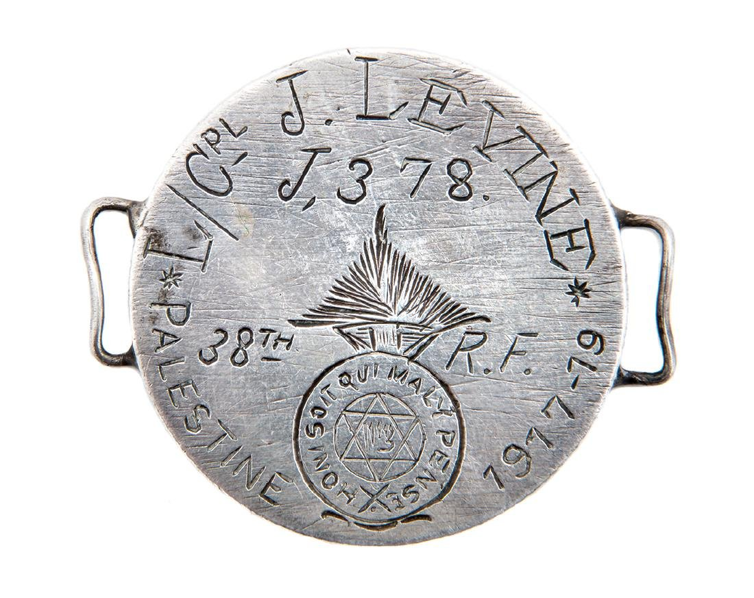 """Private"" Silver Medal of a Soldier in the Jewish"