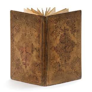 Illuminated Parchment Manuscript Seder Birkat