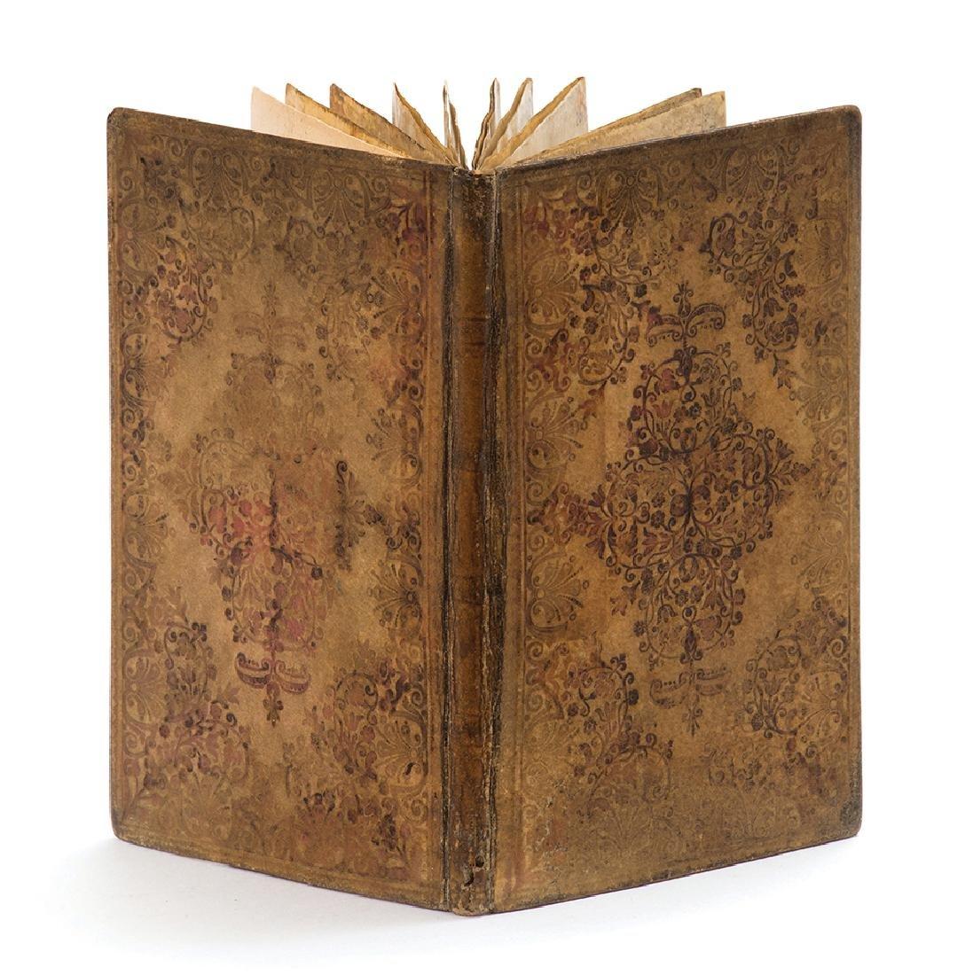 Illuminated Parchment Manuscript - Seder Birkat
