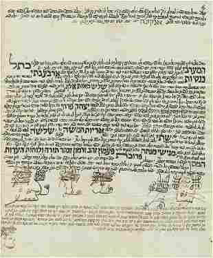 Manuscript Leaf Emissary Writ for Rabbi Yitzchak